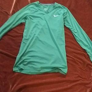 Nike Pro combat. Dry fit long sleeve shirt size m